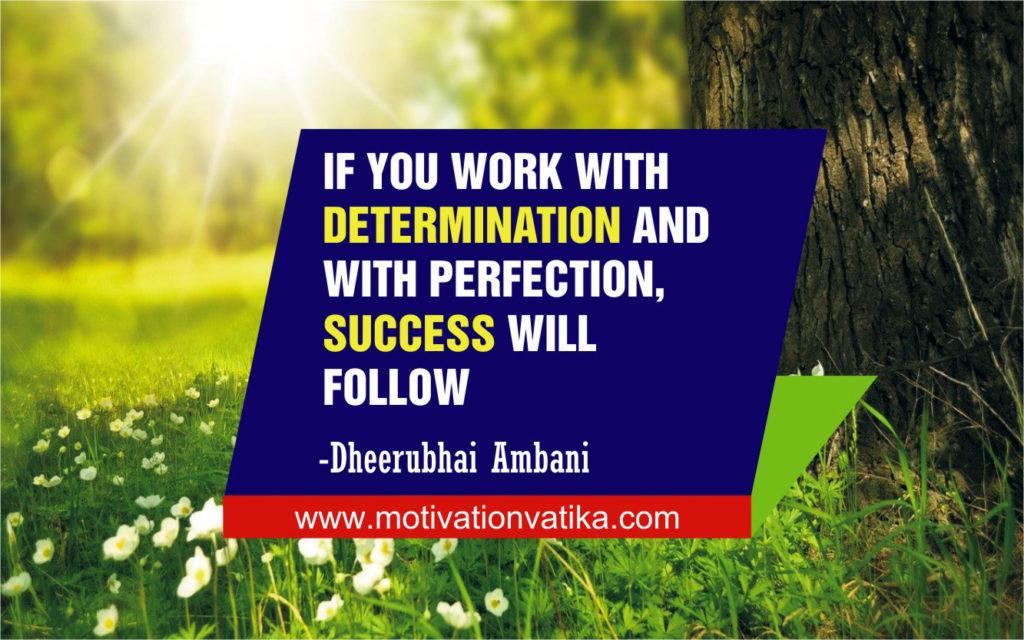 Success for motivation