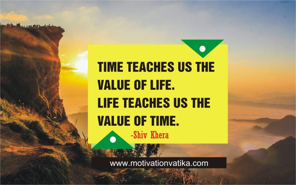 thoughts of day for success about time
