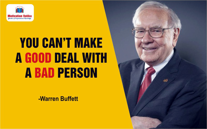 Warren Buffet quotes for Life