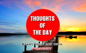 Best thought of the day Quotes for Motivation and Success